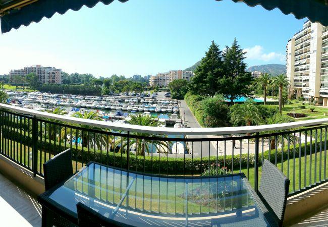 Appartement à Mandelieu-la-Napoule - [594la] VUE MARINA - PISCINE - PARKING - PROCHE MER