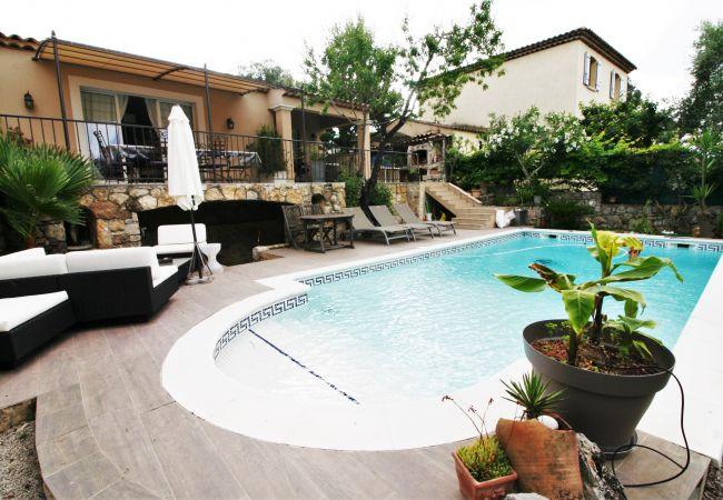 Villa à Le Cannet - VILLA CANNES WIFI PISCINE PARK [OVI3485]